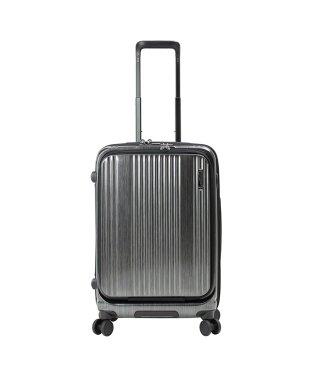 バーマス インターシティ スーツケース Mサイズ/53L フロントオープン ストッパー USBポート BERMAS 60501