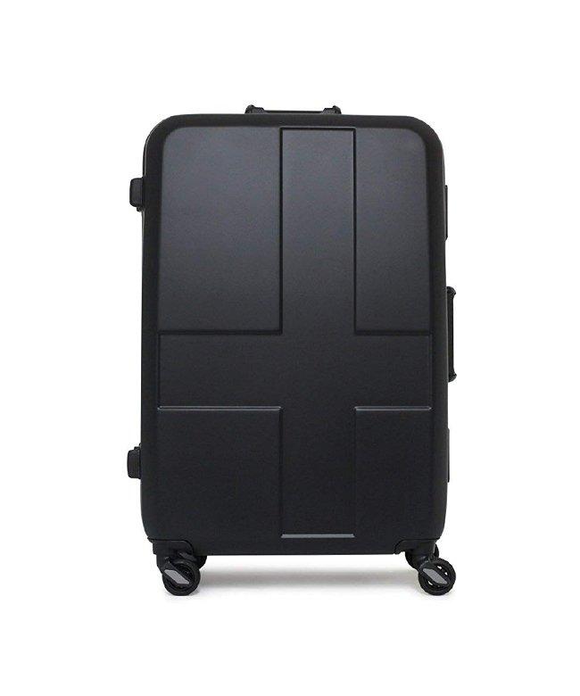 (innovator/イノベーター)イノベーター スーツケース Lサイズ フレームタイプ 軽量 大型 大容量 innovator 90L inv−68/ユニセックス ブラック系1
