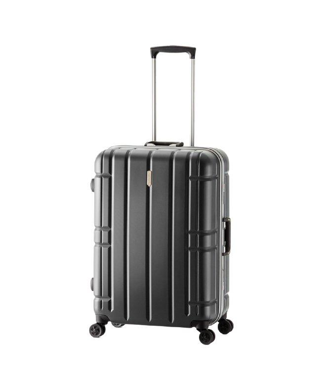 (ASIA LUGGAGE/アジアラゲージ)アジアラゲージ スーツケース Lサイズ フレーム アリマックス 大容量 大型 軽量 AliMaxG 74L MF−5016/ユニセックス ブラック