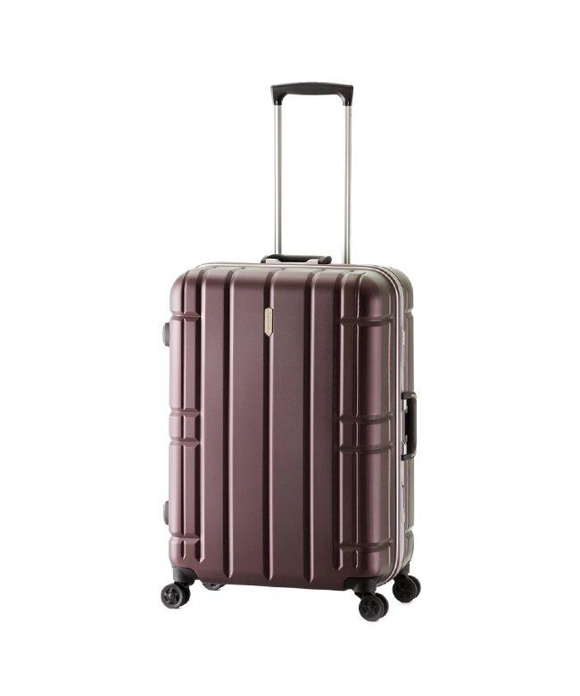 (ASIA LUGGAGE/アジアラゲージ)アジアラゲージ スーツケース Lサイズ フレーム アリマックス 大容量 大型 軽量 AliMaxG 74L MF−5016/ユニセックス ワイン