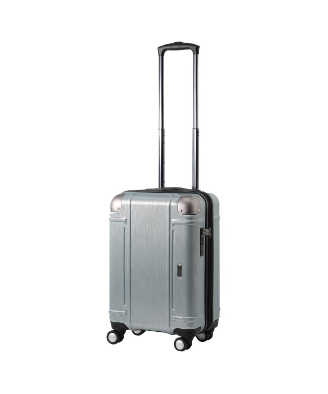 (Z.N.Y/ゼット・エヌ・ワイ)エース スーツケース 機内持ち込み Sサイズ ダイヤルロック 軽量 拡張 34L~41L Z.N.Y 06521/ユニセックス シルバー