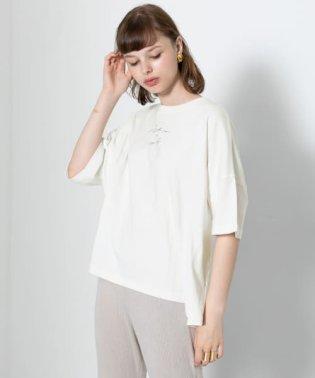 スクリプトロゴビッグTシャツ(5分袖)
