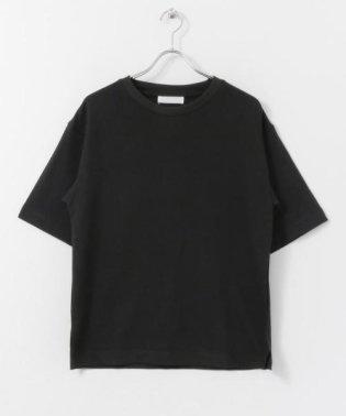 オーガニックコットンビッグTシャツ(5分袖)