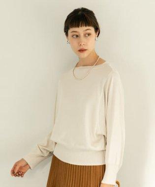 ドルマンモックネックセーター