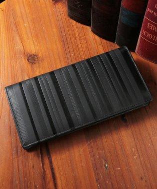 財布 長財布 メンズ 薄い財布 本革 レザー 薄マチ 二つ折り スリムロングウォレット VACUA