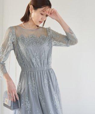 【WEB限定】【Mon E'toile】【結婚式にも】レースDRESS
