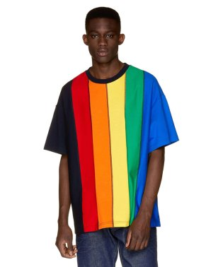 ストライプ半袖Tシャツ・カットソーJCC(ユニセックス)