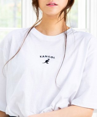 (KANGOL)ミニロゴTシャツ