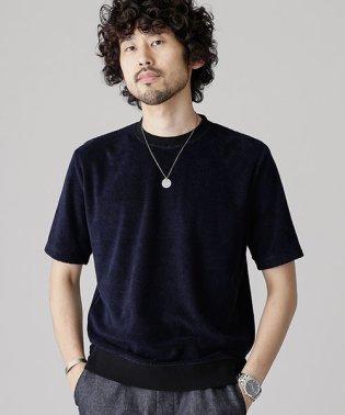 カラーリングクルーネックTシャツ