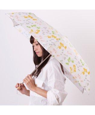 estaa 折りたたみ傘 【にじみフラワー】