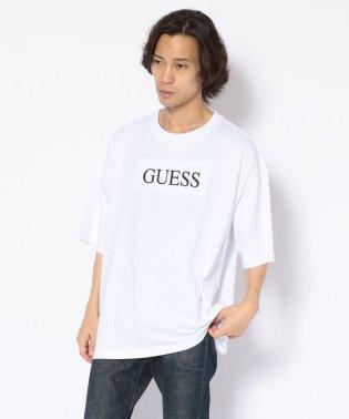 GUESS/ゲス/別注刺繍BIG TEE(ティーシャツ)