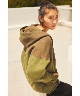 COLLABORATION HOODED JACKET