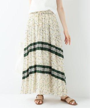 【GHOSPELL/ゴスペル】PLEATED PANEL ロングスカート