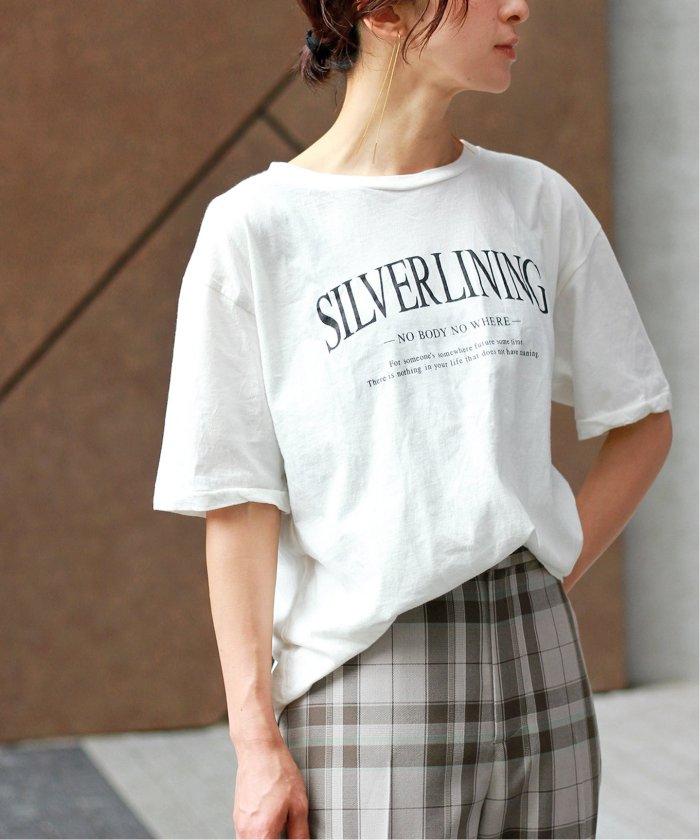 【+81 BRANCA/プラスハチイチブランカ】SILVER LINING フォトTシャツ◆