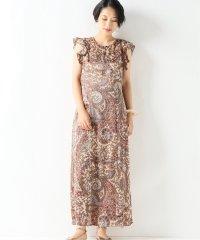 【BAUM UND PFERDGARTEN/バウム ウンド ヘルガーデン】Silk Paisley Dress