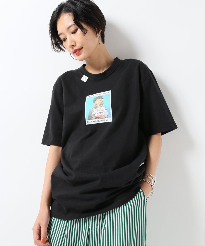 【TAGS WKGPTY/タグスワーキングパーティー】Time Tee:Tシャツ