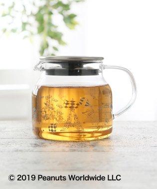PEANUTS/茶漉し付き耐熱ポット