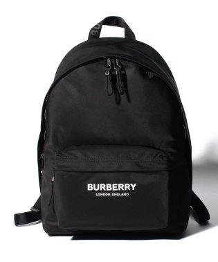 【BURBERRY】Logo print ナイロンバックパック
