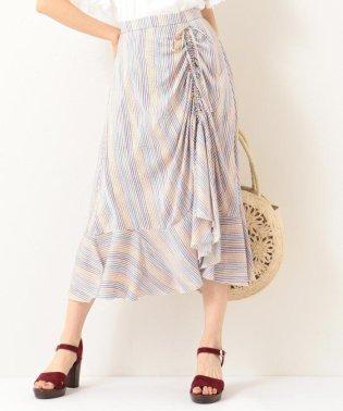 【洗える】Almaプリント スカート