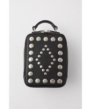 STUDDED SQUARE MINI バッグ