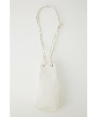 F/LEATHER LUNCH POCHETTE