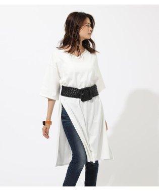 SLIT V/N T DRESS