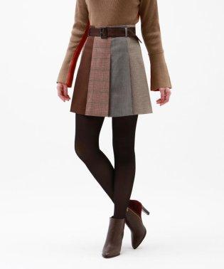 オーバーチェック ブロッキング スカート