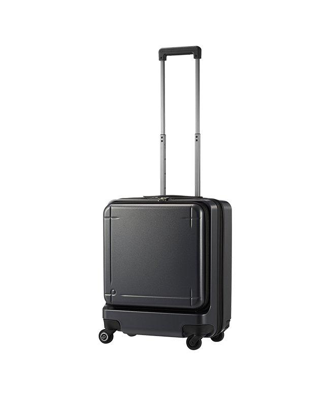 (ProtecA/プロテカ)エース プロテカ マックスパス3 スーツケース 機内持ち込み Sサイズ 40L ACE 02961 ストッパー フロントオープン/ユニセックス ガンメタリック