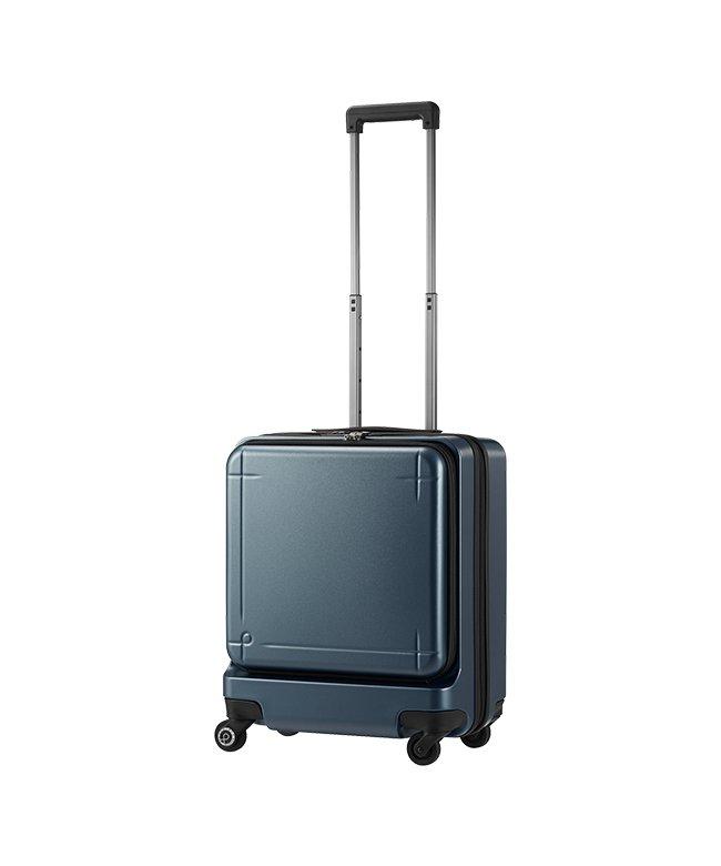 (ProtecA/プロテカ)エース プロテカ マックスパス3 スーツケース 機内持ち込み Sサイズ 40L ACE 02961 ストッパー フロントオープン/ユニセックス グレー
