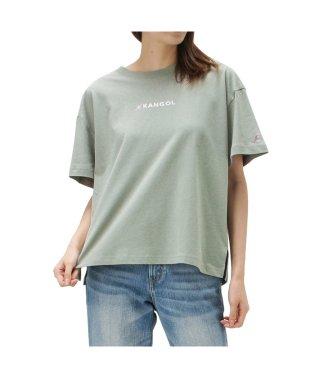KANGOL カラフル刺繍Tシャツ 9282-1738