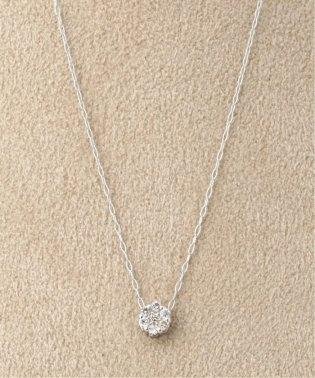 《WEB限定》PT 0.1ct ダイヤモンド 7ネックレス
