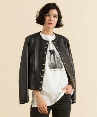 【洗える】MONOCHROME PHOTOPRINT Tシャツ
