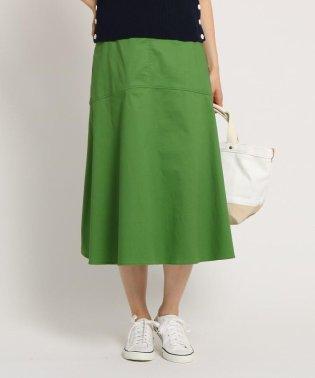 【Sサイズあり・洗える】コットンストレッチフレアスカート