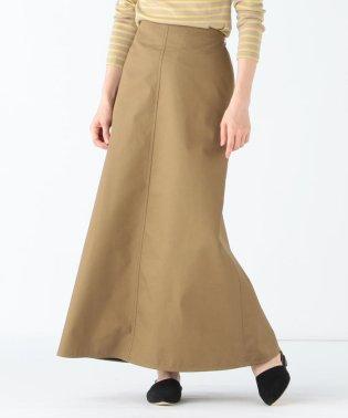 Demi-Luxe BEAMS / コットンチノ ロングスカート