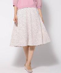 【洗濯機で洗える】小紋柄風プリントスカート