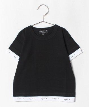 SCJ1 E TS ロゴテープTシャツ