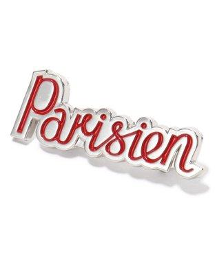 BM06609AZ1001 PARISIEN BROOCH パリジャン ブローチ RED/レッド ユニセックス メンズ