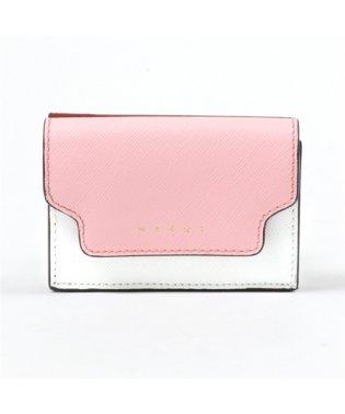 PFMOW02U09 LV520 レザー 三つ折り財布 ミニ財布 スモール 豆財布 Z172N レディース