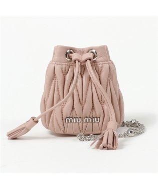 5DH018 2CE3 F0615 バッグチャーム マイクロバッグ 巾着ポーチ 2way クリスタル装飾チェーンショルダー ORCHIDEA レディース