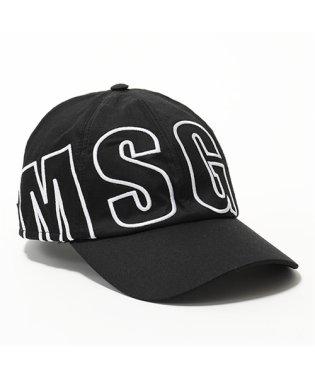 ML09 ロゴ刺繍 コットン ベースボールキャップ 帽子 スポーツ カラー99/ブラック ユニセックス