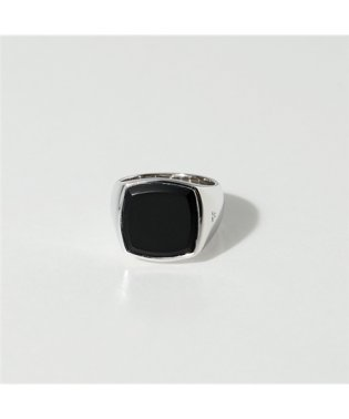 R74HPMBO 01 Cushion Black Onyx シルバー925 クッションカット リング 指輪 SILVER メンズ