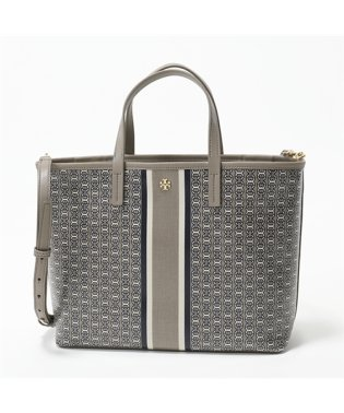 43896 GEMINI LINK SMALL TOTE レザー トートバッグ ハンドバッグ 048/FRENCH-GRAY レディース