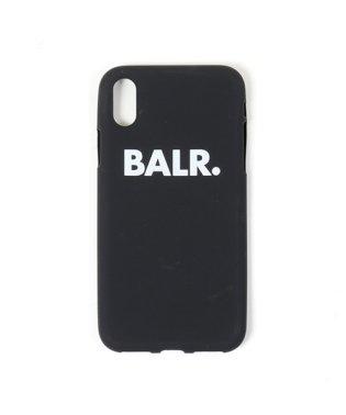 Sign Silicone Case iPhoneX専用ケース ロゴ スマホ スマートフォン カバー Black メンズ
