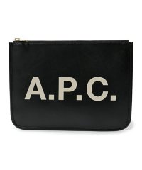 APC PUAAJ F63229 pochette morgane LZZ クラッチバッグ ポーチ NOIR ユニセックス レディース