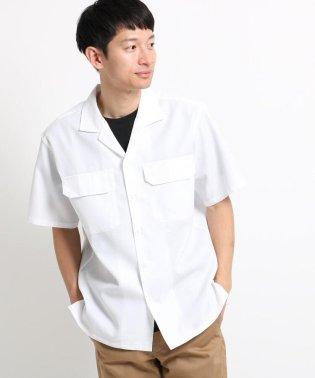 【吸水速乾/セオアルファ糸使用】さらさらオープンカラー半袖シャツ