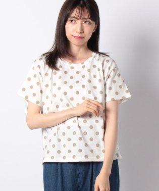 ドットプリントTシャツ