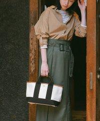 ★[トプカピ] TOPKAPI スコッチグレイン ネオレザー・ミニトートバッグ 日本製