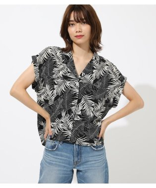 BOXY OPEN NECKED SHIRT