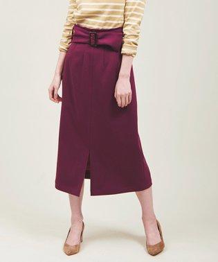 【LEE 9月号掲載】カルゼAラインスカート