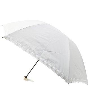 Wpc. 遮光バードゲージフラワースカラップミニ日傘